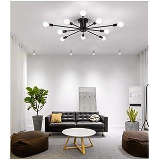 Lampadario, semplice lampadalettooro, personalità creativa, illuminazione moderna del soggiorno, illuminazione della salapranzo