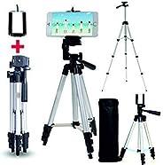 Case Plus Adjustable Aluminium Alloy Tripod Stand Holder for Mobile Phones & Camera, 360 mm -1050 mm, 1/4