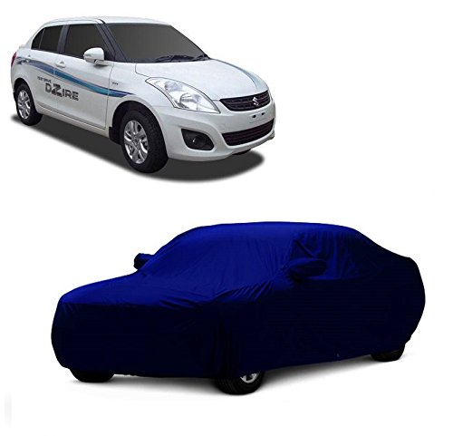 MotRoX Car Body Cover For Maruti Suzuki Swift Dzire with Side Mirror Pocket (Military Color)  available at amazon for Rs.899