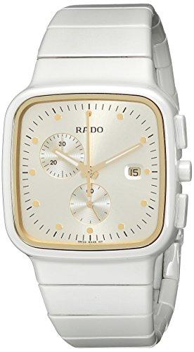 Rado R28392252 - Reloj de pulsera Mujer, Cerámica, color Blanco