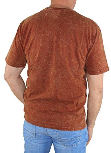 Pioneer Herren T-Shirt Verschieden Farben 5817 2987 red wine (871)