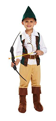 KOSTÜM KINDER HUNTER GROß 10-12 JAHRE (Kostüm Hunter Kinder)