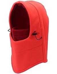 outfly Pasamontañas Casco a Prueba de Viento Full Face Mask Thermal Outdoor Sombreros con Capucha de Doble Capa, Muchos Colores