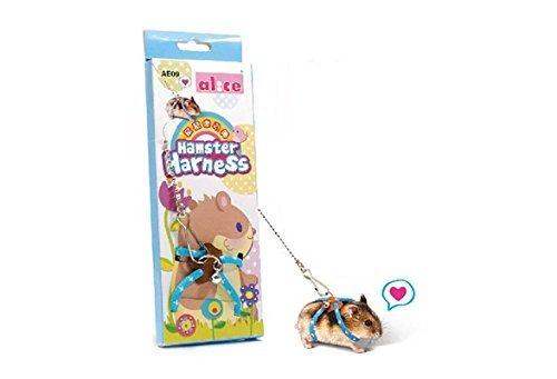 Qiao Niuniu Harnais Laisse pour Hamster Souris...