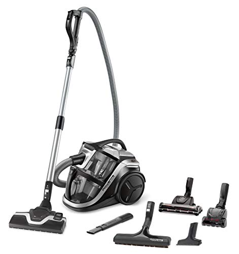 Rowenta RO8396 Silence Force Multi-Cyclonic, beutelloser Boden-Staubsauger, vacuum-cleaner, sehr leise, Tierhaar, hohe Saugleistung ohne Beutel