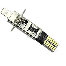 6500K HID Xenón 24-SMD H1 LED Bombillas de Recambio Luces de Niebla DRL Conduce Blanco