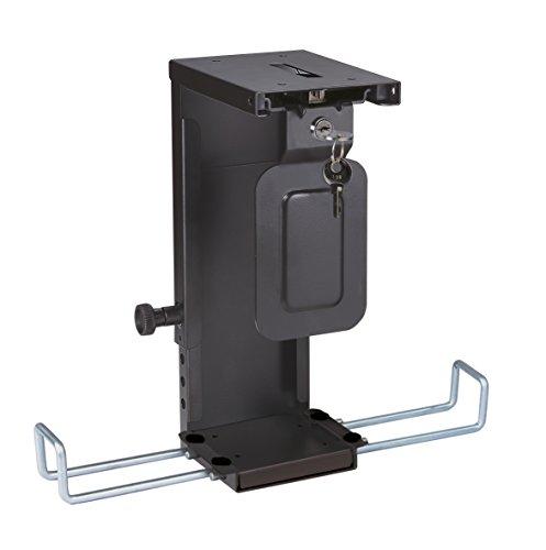 ROLINE Mini-PC-Halter, abschliessbar, schwarz