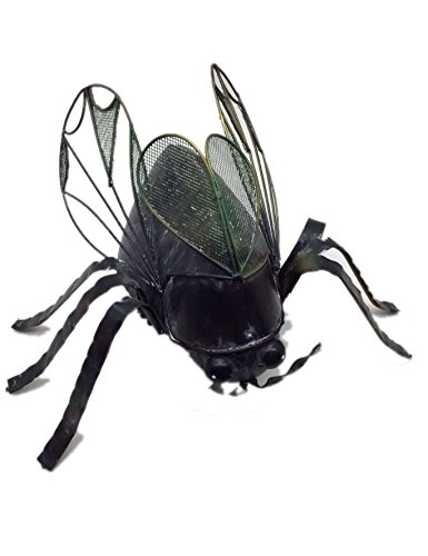 DekofigurRiesen Käfer aus Eisen, außergewöhnliche Dekoration für Haus und Garten | Dekoration > Figuren und Skulpturen > Figuren