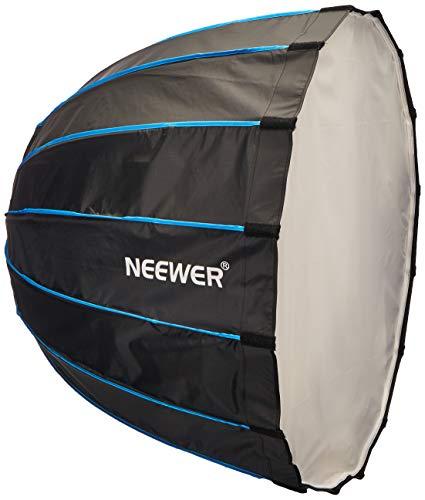 Neewer 10090558 Fotografie Portable Speedlite Flash Sechzehneck Softbox mit Bowens Mount, 90cm