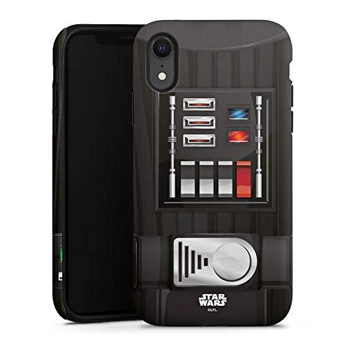 DeinDesign Apple iPhone Xr Hülle Tough Case Schutzhülle Star Wars Merchandise Fanartikel Darth Vader
