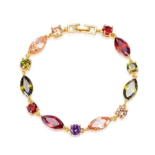 YAZILIND vergoldet armband mode westlichen stil hübsche zirkon für frauen (farbe)