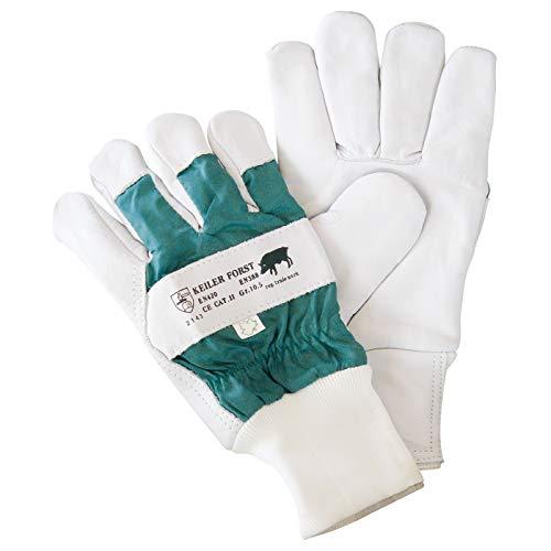 KEILER FORST, Rindnarbenlederhandschuh EN 388+EN420, Kat. 2, Größe 10,5