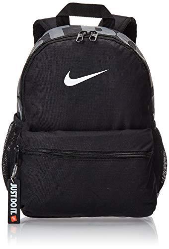 Nike Y Nk Brsla JDI Mini Bkpk, Zaino Unisex-Bambini, Nero Black/White, 15x24x45 centimeters (W x H x L)