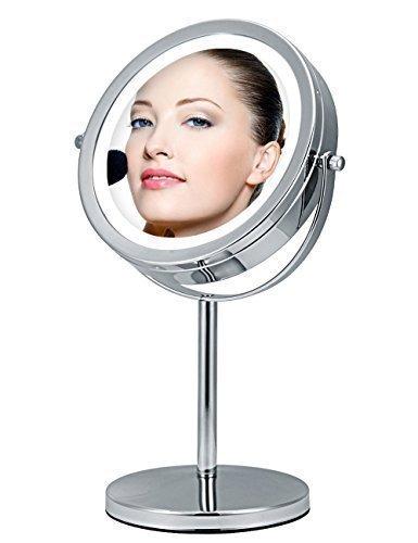 ALHAKIN-ampliacin-a-doble-cara-7-pulgadas-espejo-de-aumento-LED-D7