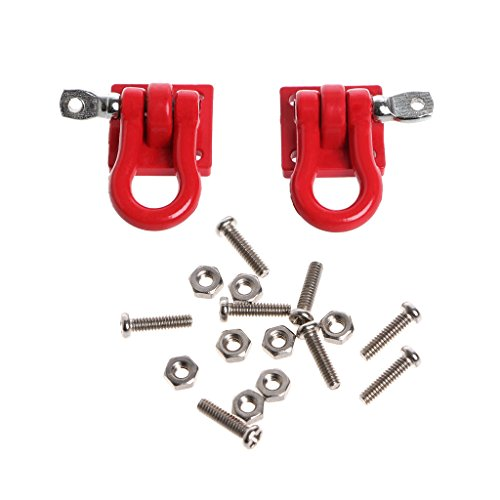 Trailer Buckle Hook for RC Crawler D90 SCX-10 Truck for RC Car Parts ()