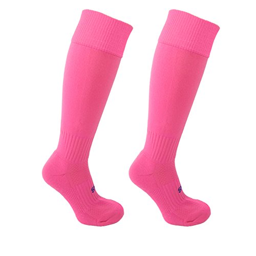Little Grippers Rosa Kinder Unisex Sport Socken mit Stay On Technology (Small 7-10 Jahre/ Schuhgröße 31-34 ) (Gripper Socken)
