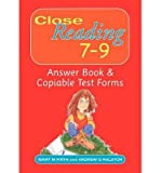 Telecharger Livres Close Reading Answer Book and Copiable Test Forms Age 7 9 Mixed media product Common (PDF,EPUB,MOBI) gratuits en Francaise