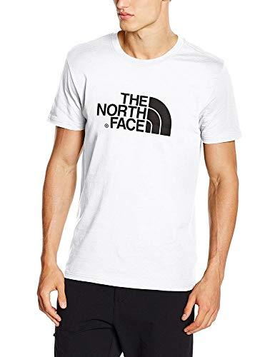 The North Face S/S Easy H Camiseta de Manga Corta, Hombre, Blanco...