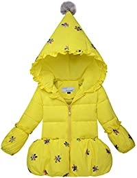 Menschwear Para niños de plumón de pato Invierno Capucha Chaqueta de Down