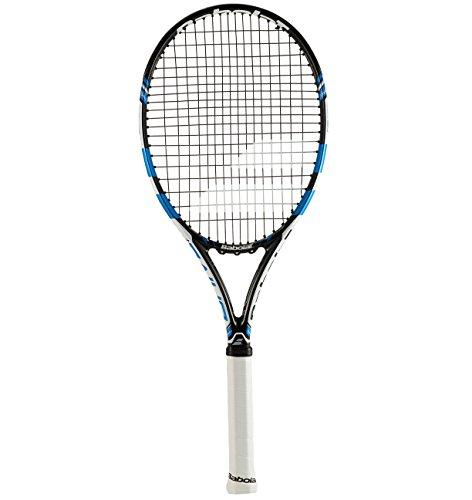 Junior Tennis Schläger (Babolat Pure Drive Junior 23Schläger Tennis, Unisex Kinder, schwarz/blau, 000)