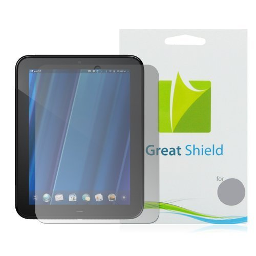 Invisibleshield Screen Film (GreatShield Screen Shield HP TouchPad - Anti-Glare - 3 pack)