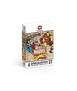 Winning Moves Number 1 Marvel Retro 54pieza(s) - Juego de Cartas (54 Pieza(s), Cartón, 4 año(s), Niño/niña, Children/Adults, Marvel Retro)