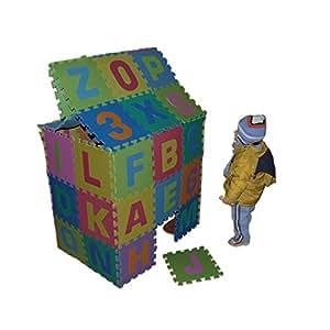 86tlg spielmatte kinderteppich puzzlematte spielteppich schaumstoffmatte matte in gr e. Black Bedroom Furniture Sets. Home Design Ideas