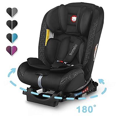 Lionelo Sander Kindersitz mit ISOFIX, Autokindersitz ab Geburt, Gruppe 0+ 1 2 3 (0-36kg), ECE R 44/04, TÜV SÜD