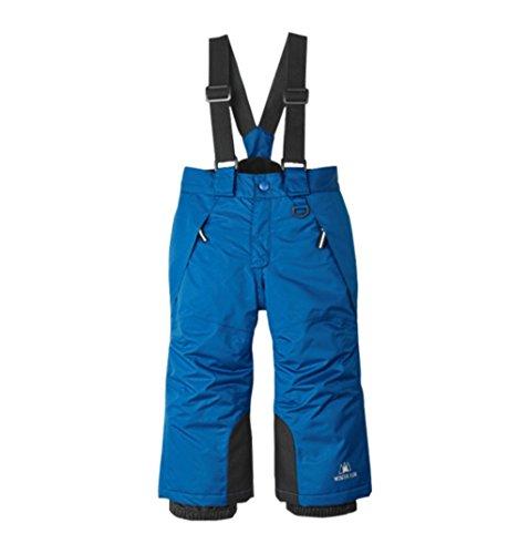 Kinder Skihosen Bib Pants Schnee Overalls Wasserdicht für den Wintersport | 00663585857607