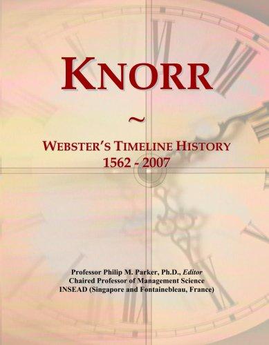 knorr-websters-timeline-history-1562-2007