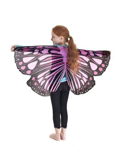 Schmetterlingsflügel pink (Dress Up Fantasy Für Erwachsene)