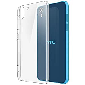 Plus Exclusive Soft Silicone TPU 0.3mm Transparent Clear Case Back Case Cover For HTC Desire Eye