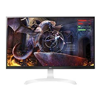 LG 27UD69-W - Monitor 4K de 68.5cm (27 pulgadas, UHD 16:9, IPS 3840 x 2160 pixeles, 5 ms, 60Hz, 300 cd/m2c, AMD FreeSync), negro