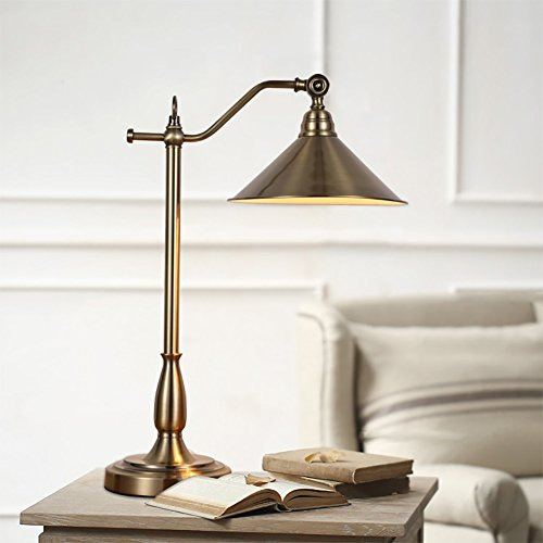 e Minimalistische Ideen Legierung Tischlampe, Persönlichkeit Schlafzimmer Nachttisch Wohnzimmer Schreibtisch Learn Tischleuchte ()