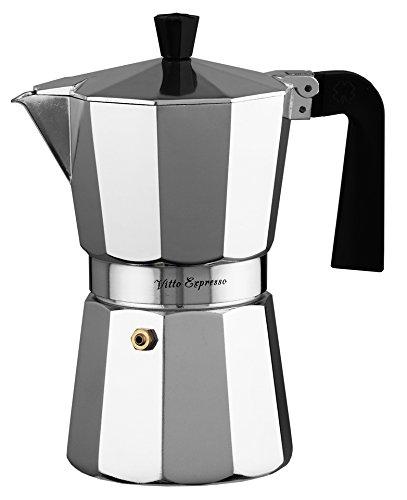 Ilsa–Aluminium Vitto Expresso Kaffeemaschine, silber