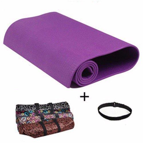 Materassino Yoga Equilibrio Dello Spessore Di Tampone Di Allargare La Supina Fitness Salotto Dance Pad E 6Mm 3 Pezzo , Violetto