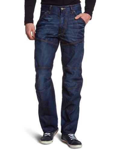 G-STAR Herren 5620 Elwood 3D Loose Jeans Blau (dk aged)