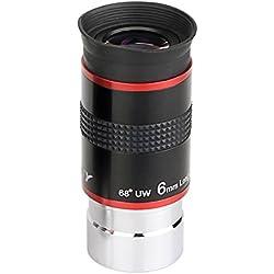 "Svbony Telescope Oculaire 1,25"" Lentille Telescope Oculaire 6mm FMC Oculaire 68° Super Grand Angle Oculaire pour Telescope Astronomique (6mm)"