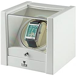 Time Tutelary Unisex Uhrenaufzieher KA079WT, Holz, Weiß