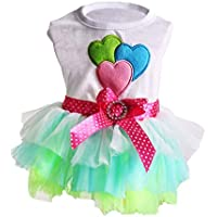 Provide The Best Netter Hund/Katze-Haustier-Kleid Bowknot Luftblasen-Rock-Prinzessin Dress Kleidung Puppy Soft-Doggy-Kostüm