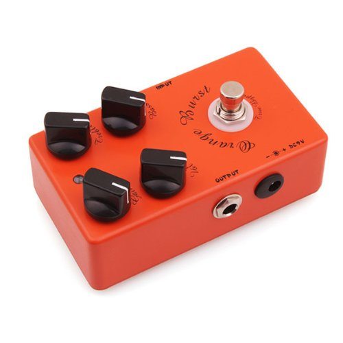 Caline CP-18Overdrive–Pedal de Efectos para Guitarra, color naranja