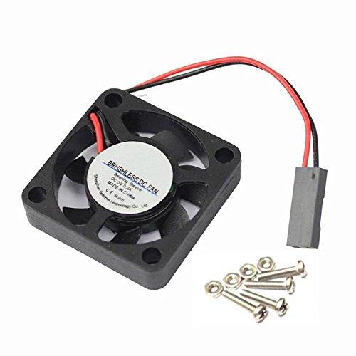 WINGONEER 5V DC sin escobillas ventilador de la CPU con tornillos para...