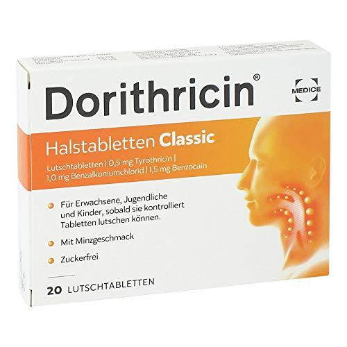 DORITHRICIN Halstabletten Classic Hals Lutschtabletten (20Stück)