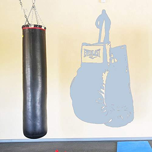 guijiumai Wandtattoo Kunst Boxhandschuhe Fitness Boxen Wandaufkleber Sport Gym Room Decor Aufkleber Y 7 57X104CM