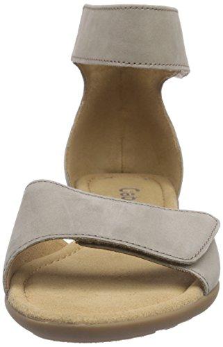 Gabor - Gabor Comfort, Sandali con cinturino Donna Grigio (33 visone)