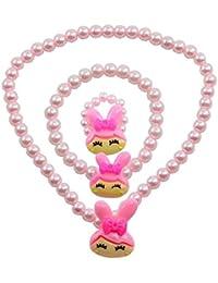"""Angel Glitter """" A Glimpse In The Garden"""" 3-PCS Jewellery Set For Kids"""
