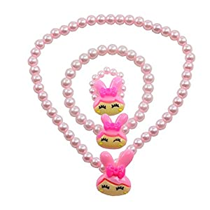 "Angel Glitter "" A Glimpse In The Garden"" 3-PCS Jewellery Set For Kids"