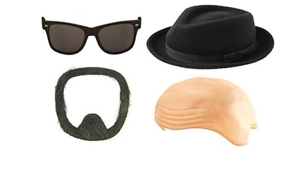 Heisenberg Kit Breaking Bad Fancy Dress Up Halloween Adult Costume Accessory