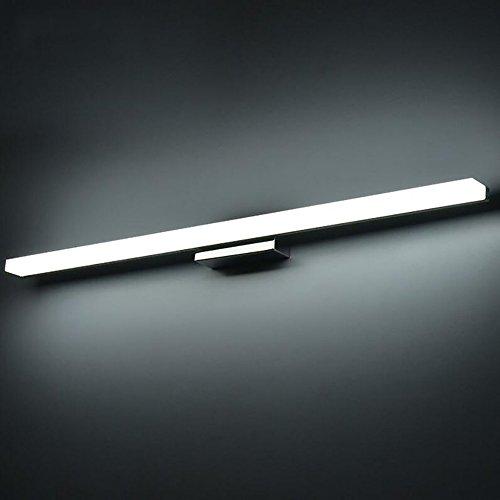 KAIRRY LED SpiegelleuchteModerne Kosmetische Acryl Wandleuchte Bad Beleuchtung Wasserdicht Spiegel Schrank Lampe Badleuchte (Color : Weißes Licht, Größe : 100CM)