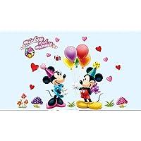 Amazon Fr Minnie Stickers Muraux Decorations Murales Bebe